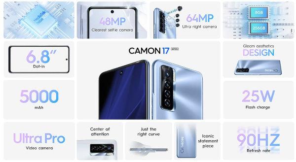 Tecno Camon 17 Pro specs