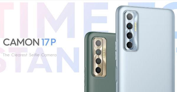 Tecno Camon 17P launched