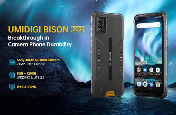 UMIDIGI BISON 2021 launched