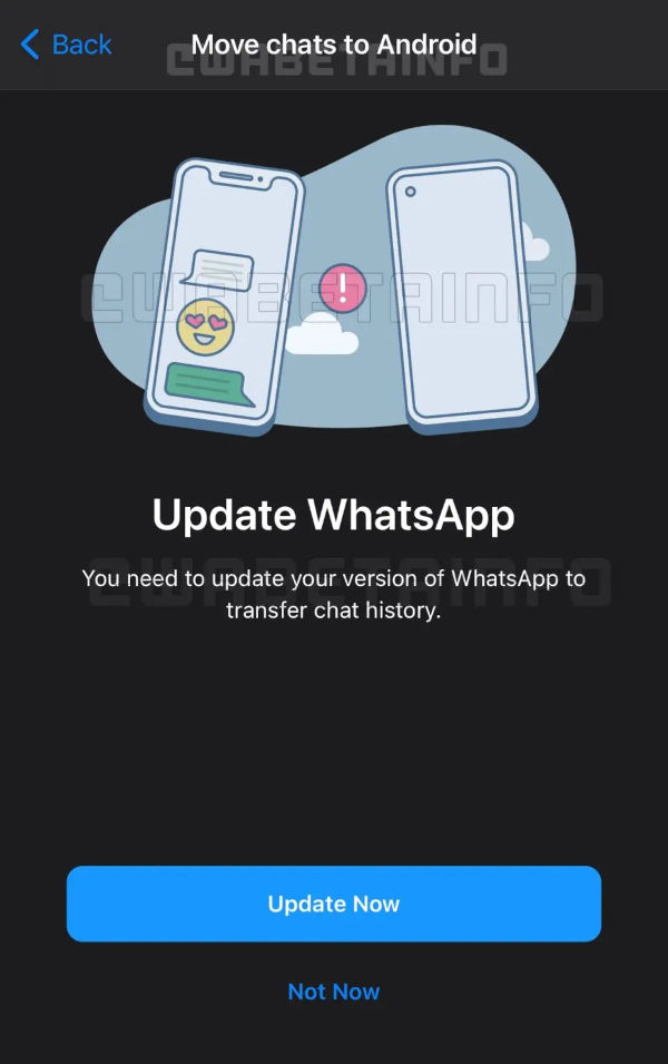 WhatsApp To Allow You Export Your Chat History To Other Phone Numbers 1