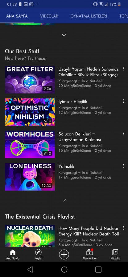 YouTube Videos translated into Portuguese and Turkish 1