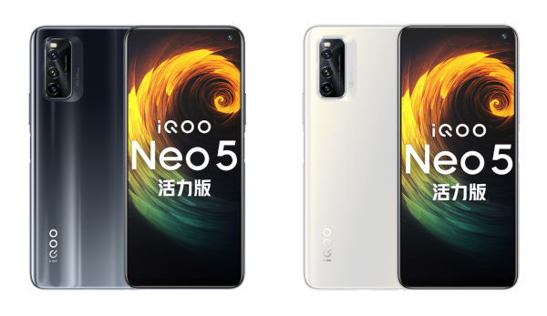 iQOO Neo5 Vitality Edition in colors