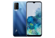 itel Vision 2 Plus in Gradation Blue