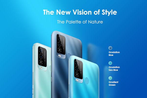 itel Vision 2 Plus in colors