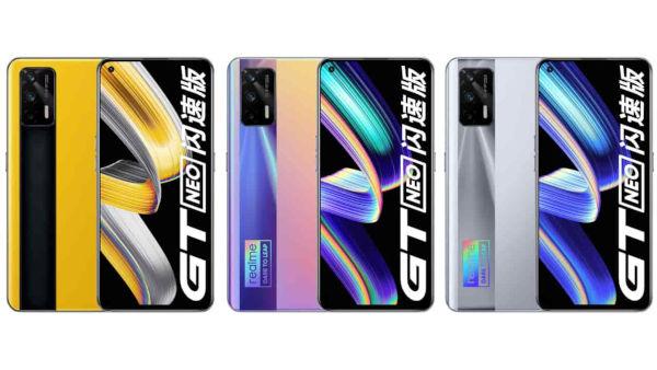 realme GT Neo Flash in colors