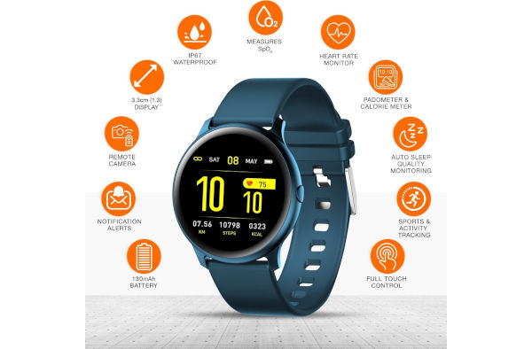 Gionee StylFit GSW7 Health and exercise tracking features