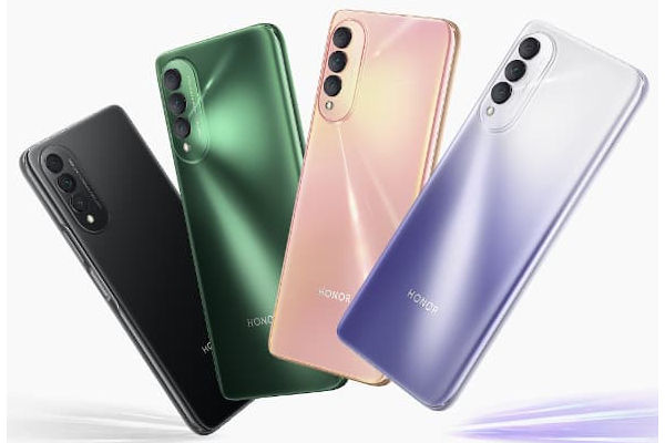 HONOR X20 SE in colors