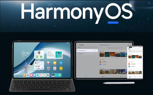 HarmonyOS on Huawei MatePad Pro 12.6 2021