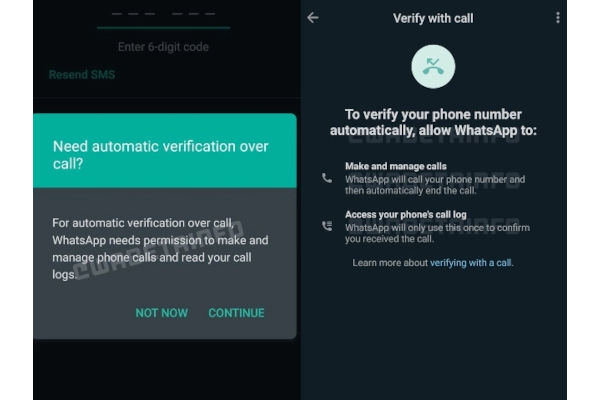 How Flash Calls feature On WhatsApp Works