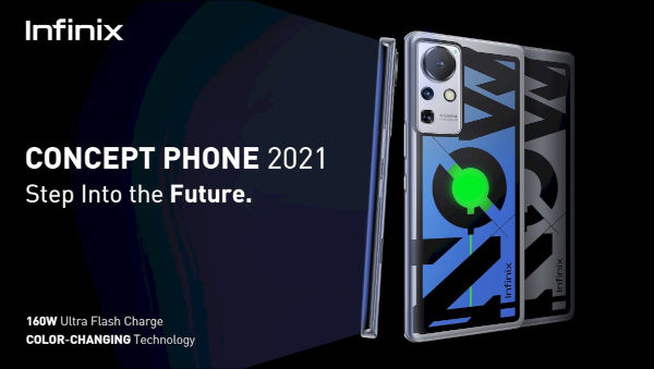 Infinix Concept Phone 2021 Has 160W Fast Charging Support 1