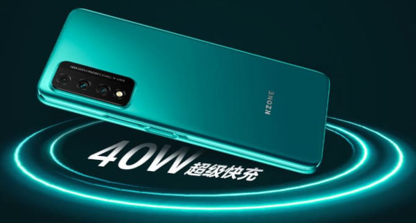 NZone S7 Pro 5G supports 40W Fast Charge