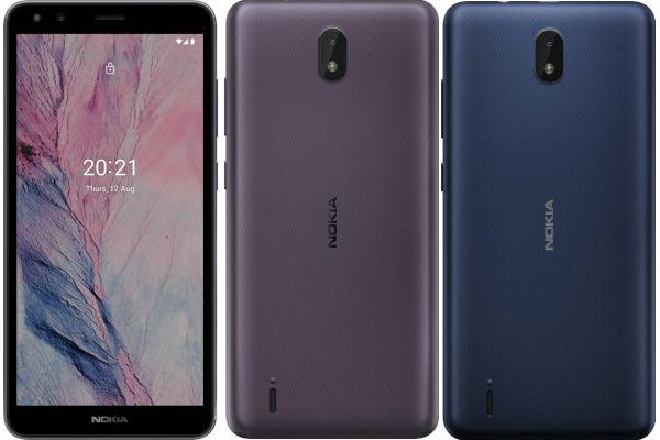 Nokia C01 Plus in colors