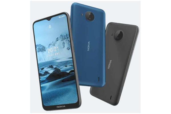 Nokia C20 Plus in colors