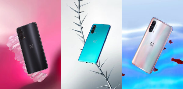 OnePlus Nord CE 5G in colors