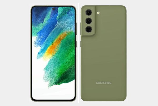 Samsung Galaxy S21 FE Render 2