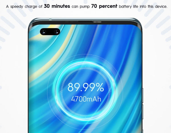 Tecno Phantom X 33W fast charging gets the 4700 mAh battery to 70 in half an hour