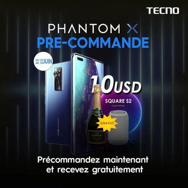 Tecno Phantom X officially confirmed and pre orders begin