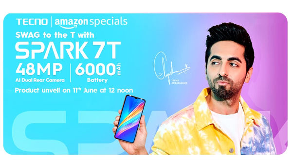 Tecno Spark 7T coming on June 11