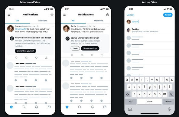 Twitter bringing Unmention feature soon 2