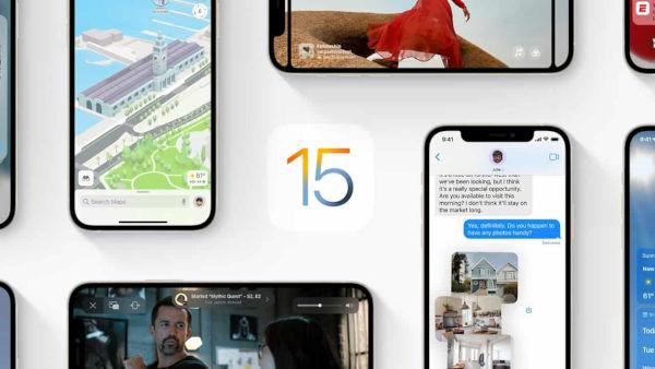 iOS 15 1
