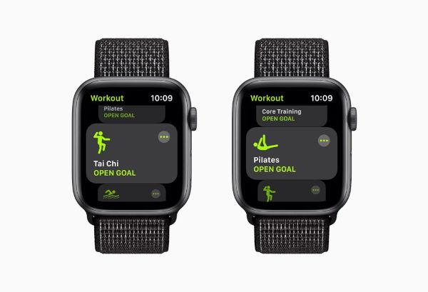 watchOS 8 Fitness app