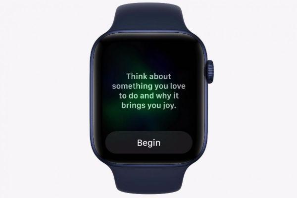 watchOS 8 new Mindfulness app