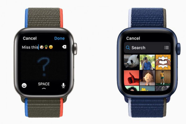 watchos 8 redesigned grid view of your photos