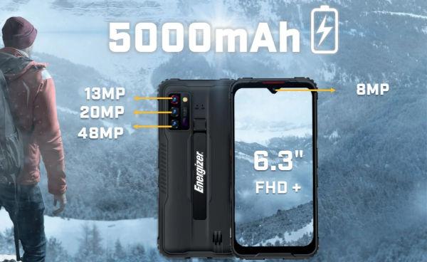 Energizer Hard Case G5 battery