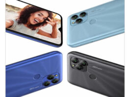 Gionee P15 in colors