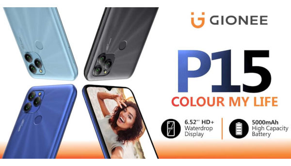 Gionee P15 launched