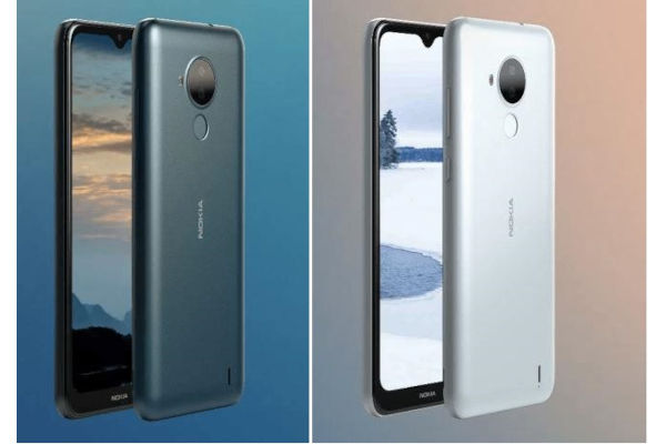 Leaked renders of the Nokia C30 by Nokia Power User