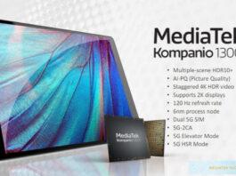 MediaTek Kompanio 1300T chipset
