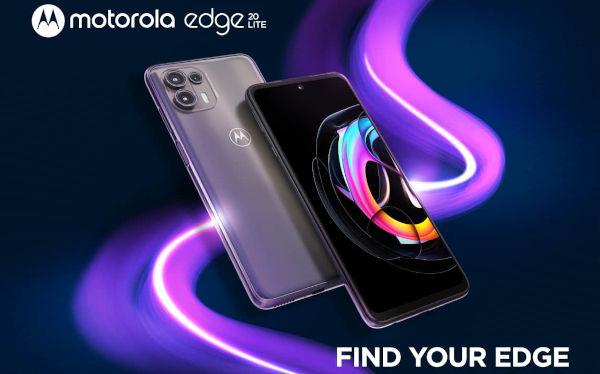 Motorola Edge 20 Lite launched
