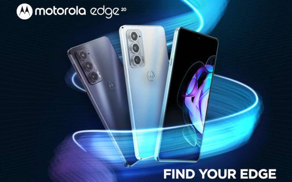 Motorola Edge 20 launched