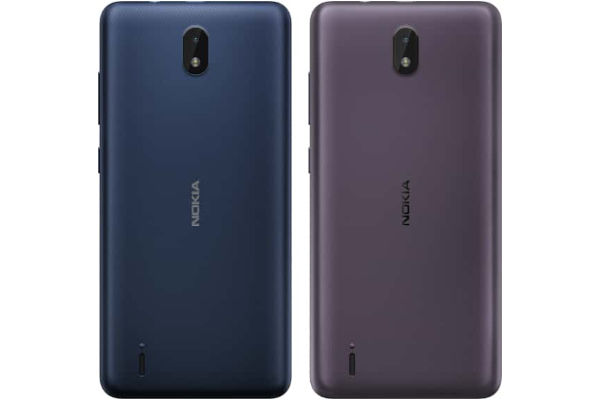 Nokia C1 2nd Edition in colors