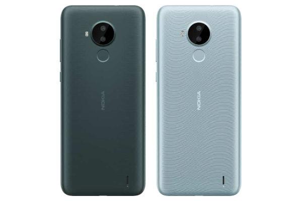 Nokia C30 in colors