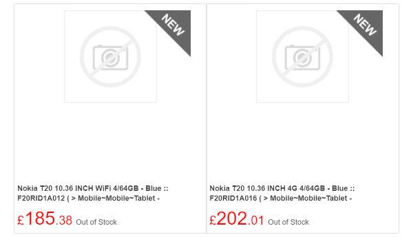 Nokia T20 Tablet In Works Pricing Leaks
