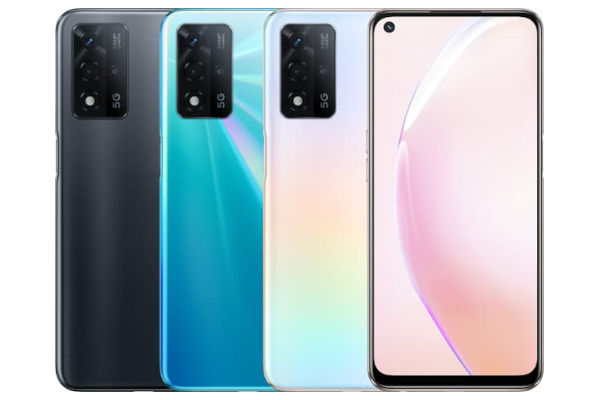 OPPO A93s 5G in colors