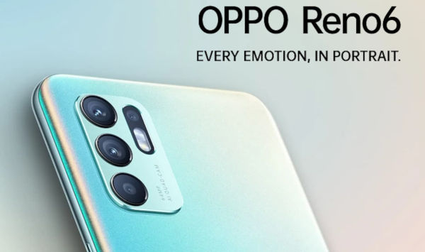Oppo Reno6 4G launched