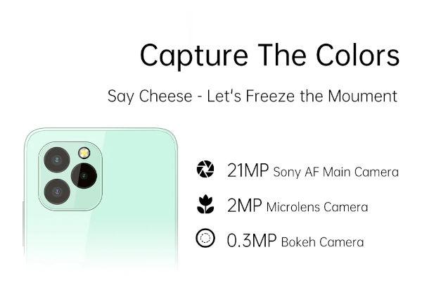 Oukitel C21 Pro camera
