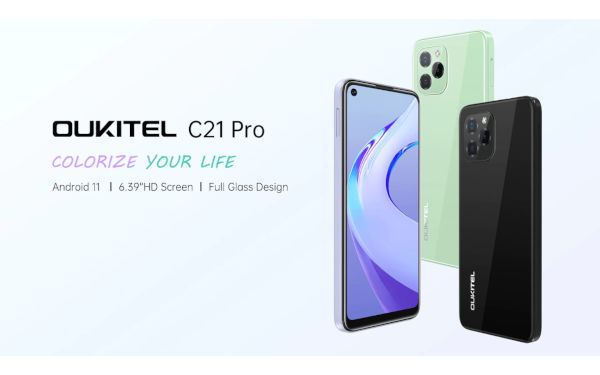 Oukitel C21 Pro launched