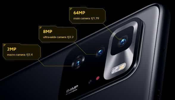 Poco X3 GT cameras