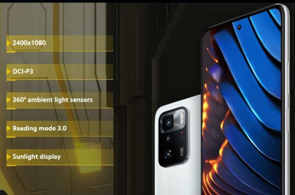 Poco X3 GT features