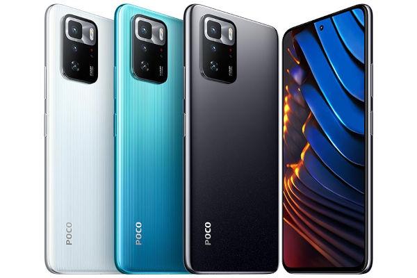 Poco X3 GT in colors 1