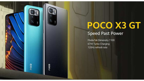 Poco X3 GT launched 1