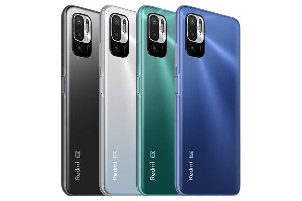 Redmi Note 10T 5G in colors