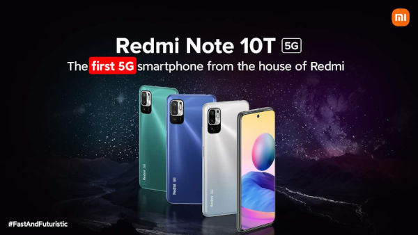 Redmi Note 10T 5G launched