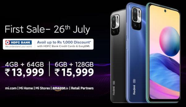 Redmi Note 10T 5G price