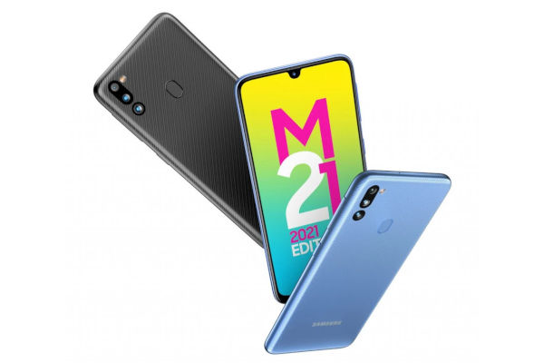 Samsung Galaxy M21 2021 colors 1