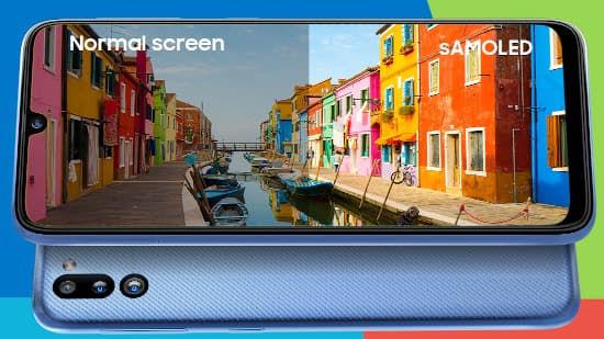 Samsung Galaxy M21 2021 dislpay